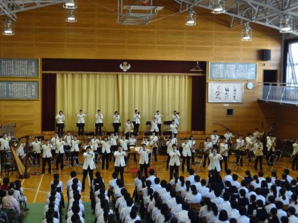 福山市立鷹取中学校・音楽鑑賞会...