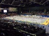 高校柔道最大規模の開会式。