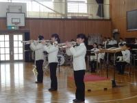 ◆小学校3年生の鑑賞教材である「トランペット吹きの休日」を実際に演奏♪