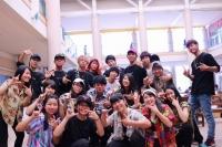 おかやま山陽高校「The LEGEND」 と卒業生のメンバーが所属する「LEZRY」