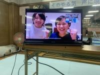 (左)平先輩(右)岡本先輩