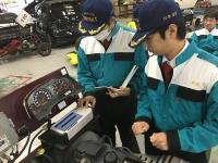 外部診断機 日立モバイル製HDM-3000を使っての授業です。