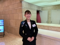 平成30年度卒業生ニューキャッスルホテルで勤務する高橋明日香さん